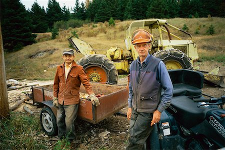 Men Working In Field, Charlevoix, Quebec Stock Photo - Rights-Managed, Code: 700-00681244