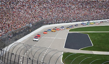Nascar Race at Texas Motor Speedway, Texas, USA Stock Photo - Rights-Managed, Code: 700-00681444