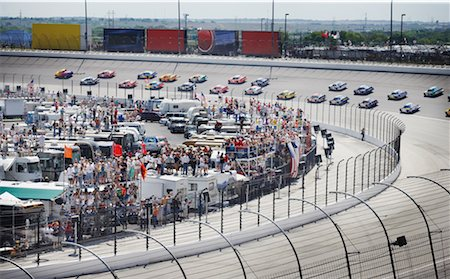 Nascar Race at Texas Motor Speedway, Texas, USA Stock Photo - Rights-Managed, Code: 700-00681441