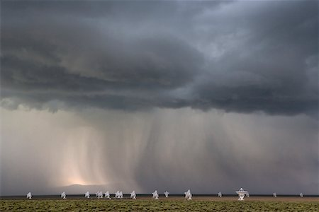 radio telescope - Very Large Array, Socorro, New Mexico, USA Stock Photo - Rights-Managed, Code: 700-00683190