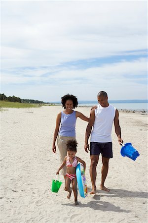 Family at Beach Stock Photo - Rights-Managed, Code: 700-00748181