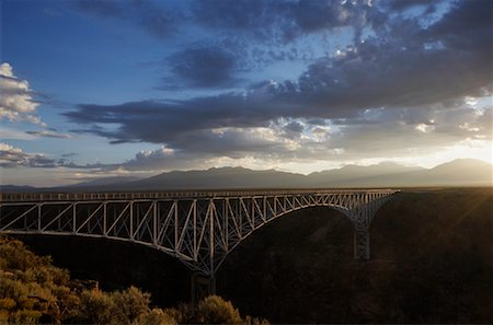 david zimmerman - The Rio Grande Gorge Bridge, Taos, New Mexico, USA Stock Photo - Rights-Managed, Code: 700-00748235