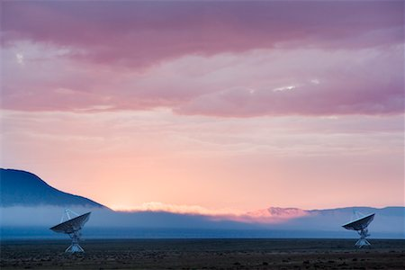 radio telescope - Radar Telescopes, Very Large Array, Socorra, New Mexico, USA Stock Photo - Rights-Managed, Code: 700-00768087