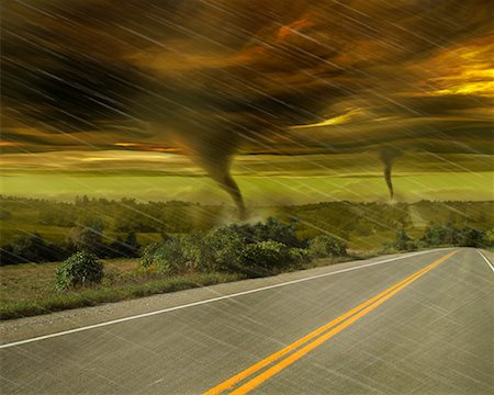 elements (weather) - Tornadoes Stock Photo - Rights-Managed, Code: 700-00781926