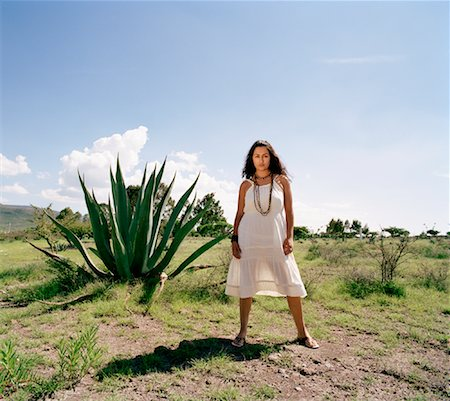 desert people dress photos - Portrait of Woman Stock Photo - Rights-Managed, Code: 700-00796177