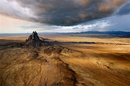 david zimmerman - Shiprock Peak, New Mexico, USA Stock Photo - Rights-Managed, Code: 700-00847527