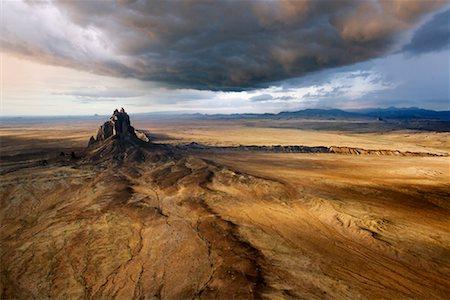 david zimmerman - Shiprock Peak, New Mexico, USA Stock Photo - Rights-Managed, Code: 700-00847527
