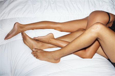 sexually aroused woman - Couple in Bed Stock Photo - Rights-Managed, Code: 700-00864708