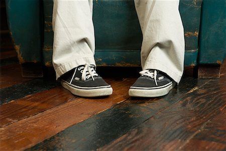 Close Up of Boy's Feet Stock Photo - Rights-Managed, Code: 700-00918202