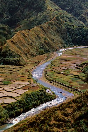 philippine terrace farming - Rice Terraces Along Chico River, Sabangan, Mountain Province, Luzon, Philippines Stock Photo - Rights-Managed, Code: 700-00910880