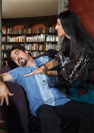 Couple Fighting Stock Photo - Rights-Managed, Code: 700-00911254