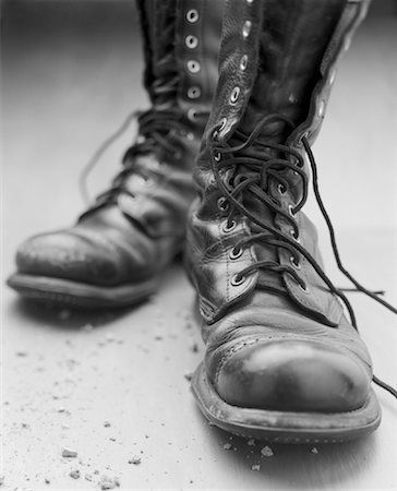 Pair of Old Boots Stock Photo - Rights-Managed, Code: 700-00933627