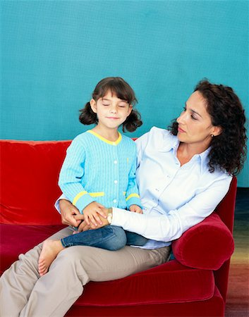 Mother and Daughter Stock Photo - Rights-Managed, Code: 700-00948813