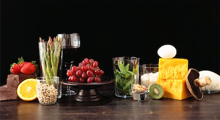 Food Groups, South Beach Diets Foods for Vegetarians Stock Photo - Rights-Managed, Code: 700-00984301
