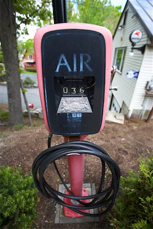 rural gas station - Air Pump at Gas Station, Vermont, USA Stock Photo - Rights-Managed, Code: 700-00983260