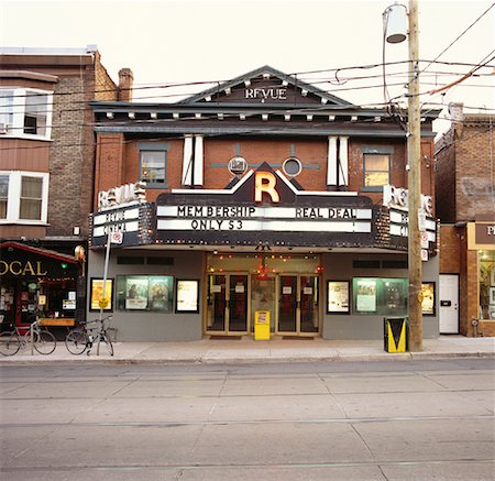 Old Movie Theatre, Toronto, Ontario, Canada Stock Photo - Rights-Managed, Code: 700-01015328