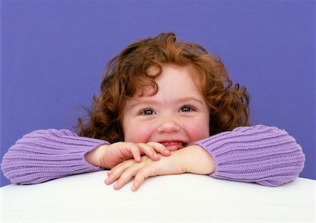 Portrait of Little Girl Stock Photo - Rights-Managed, Code: 700-01037171