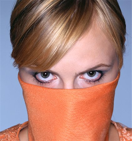 Masked Woman Stock Photo - Rights-Managed, Code: 700-01037180