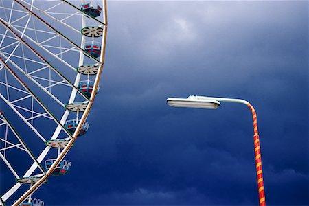 dpruter - Ferris Wheel by Light, Vienna Prater, Vienna, Austria Stock Photo - Rights-Managed, Code: 700-01030335