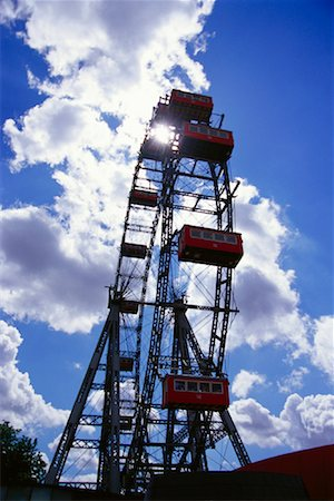 dpruter - Ferris Wheel, Prater, Vienna, Austria Stock Photo - Rights-Managed, Code: 700-01030333