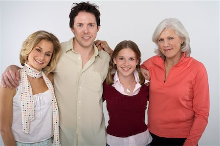 Portrait of Family Stock Photo - Rights-Managed, Code: 700-01042437