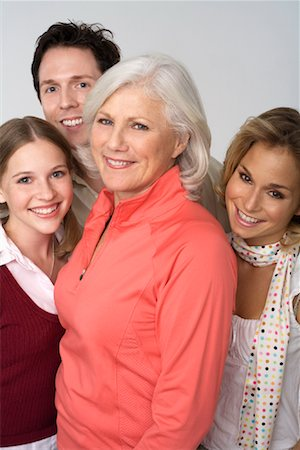 Portrait of Family Stock Photo - Rights-Managed, Code: 700-01042440