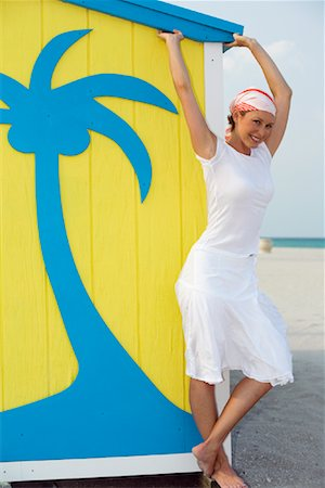 Woman at the Beach Stock Photo - Rights-Managed, Code: 700-01072301