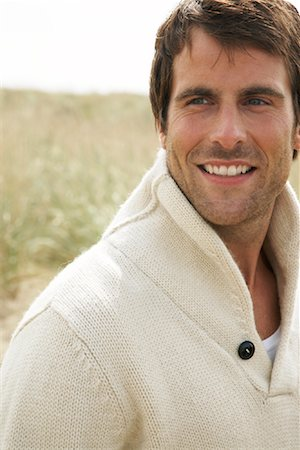 Portrait of Man Outdoors Stock Photo - Rights-Managed, Code: 700-01082834