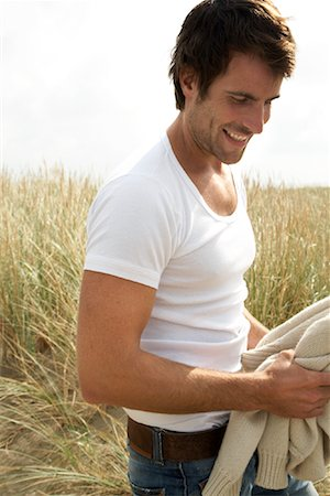 Portrait of Man in Field Stock Photo - Rights-Managed, Code: 700-01082835