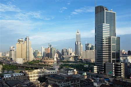 Cityscape, Shanghai, China Stock Photo - Rights-Managed, Code: 700-01083938