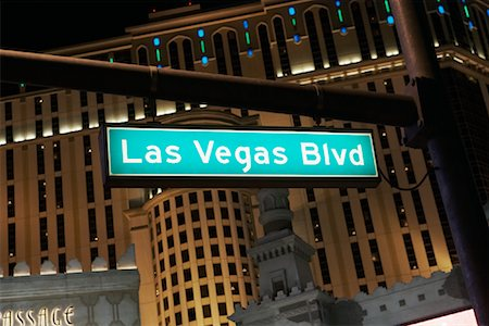 david zimmerman - Street Sign, Las Vegas, Nevada Stock Photo - Rights-Managed, Code: 700-01110228