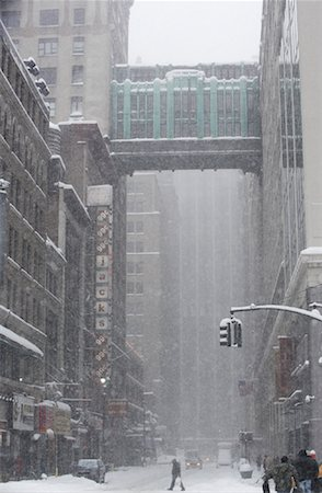 david zimmerman - New York City Snowstorm, New York, USA Stock Photo - Rights-Managed, Code: 700-01110235