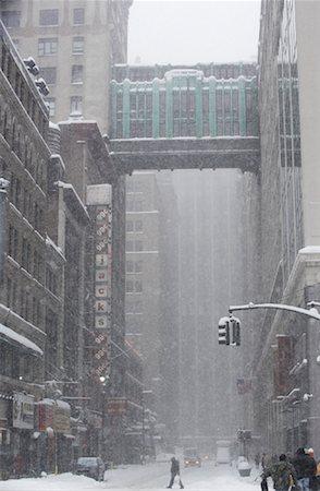david zimmerman - New York City Snowstorm, New York, USA Stock Photo - Rights-Managed, Code: 700-01110235