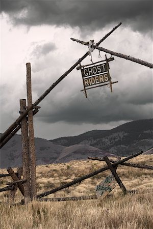 david zimmerman - Ranch Sign, New Mexico Stock Photo - Rights-Managed, Code: 700-01110239