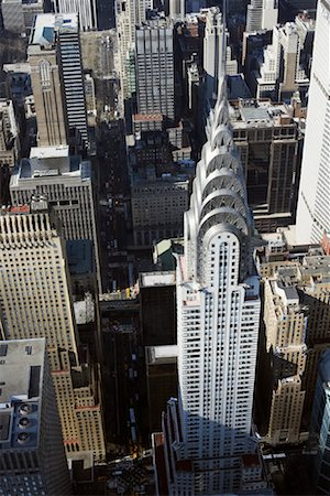 david zimmerman - Midtown Manhattan and the Chrysler Building, New York City, New York, USA Stock Photo - Rights-Managed, Code: 700-01110232