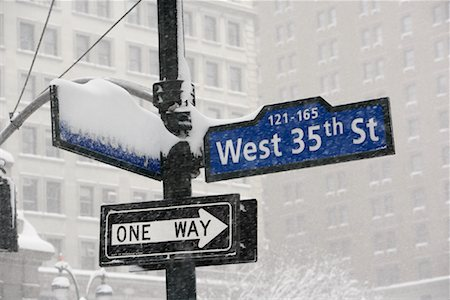 david zimmerman - Street Signs, New York City, New York Stock Photo - Rights-Managed, Code: 700-01110247