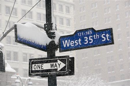 david zimmerman - Street Signs, New York City, New York Stock Photo - Rights-Managed, Code: 700-01110247