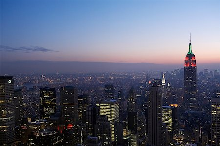 david zimmerman - New York City Skyline, New York, USA Stock Photo - Rights-Managed, Code: 700-01110253