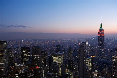 david zimmerman - New York City Skyline, New York, USA Stock Photo - Rights-Managed, Code: 700-01110253