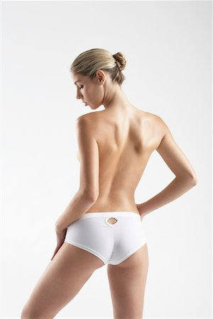 Rear View of Woman Stock Photo - Rights-Managed, Code: 700-01112524