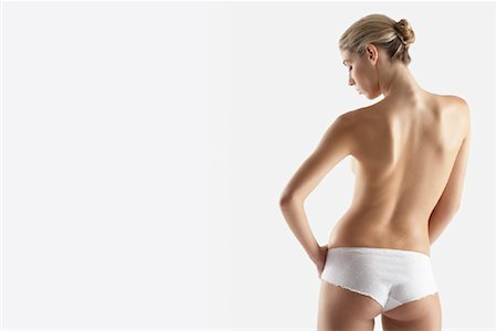 Rear View of Woman Stock Photo - Rights-Managed, Code: 700-01112537