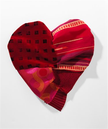 Fabric Heart Stock Photo - Rights-Managed, Code: 700-01120602