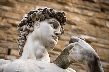 statue of david - Replica of Michaelangelo's David, Piazza Della Signoria, Florence, Tuscany, Italy Stock Photo - Rights-Managed, Code: 700-01185528
