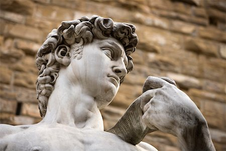 Replica of Michaelangelo's David, Piazza Della Signoria, Florence, Tuscany, Italy Stock Photo - Rights-Managed, Code: 700-01185528