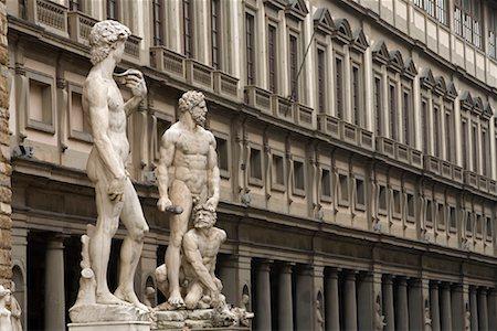 statue of david - Statues, Piazza Della Signoria, Florence, Tuscany, Italy Stock Photo - Rights-Managed, Code: 700-01185529