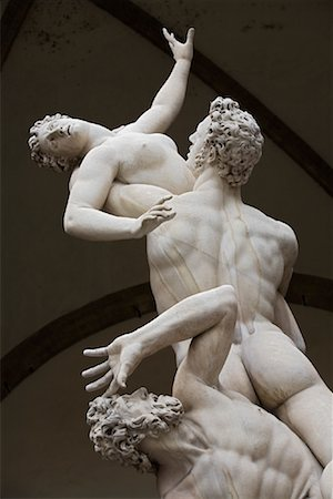 The Rape of the Sabine Women, Piazza Della Signoria, Florence, Tuscany, Italy Stock Photo - Rights-Managed, Code: 700-01185536