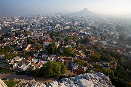 Cityscape, Athens, Greece Stock Photo - Rights-Managed, Code: 700-01185636