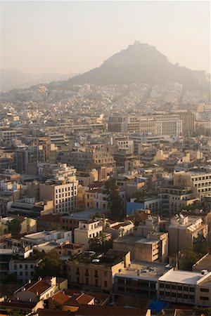 Cityscape, Athens, Greece Stock Photo - Rights-Managed, Code: 700-01185638
