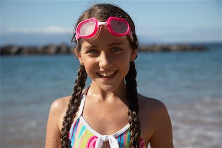 preteen  smile  one  alone - Portrait of Girl Stock Photo - Rights-Managed, Code: 700-01183960