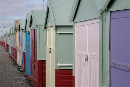 Beach Huts Stock Photo - Rights-Managed, Code: 700-01196064